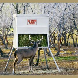 Mighty Buck Corn Feeder – Buck Stop Hunting Store