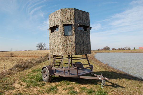 Elevated Trailer Blind Buck Stop Hunting Store